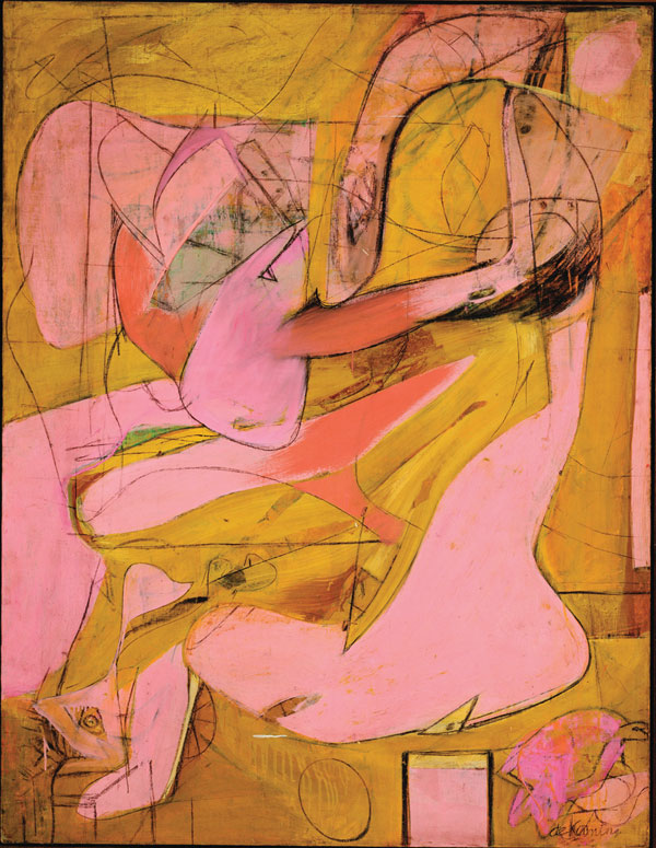 Willem de Kooning, Pink Angels, 1945