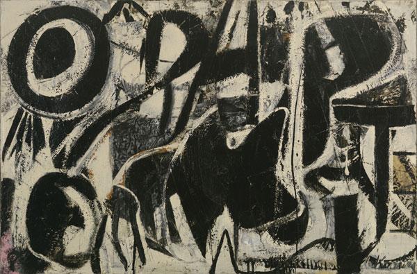 Willem de Kooning, Orestes, 1947