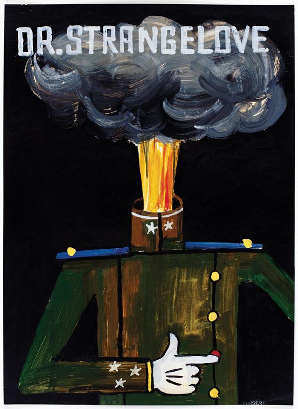 """Tomi Ungerer, """"Dr. Strangelove,"""" 1964"""
