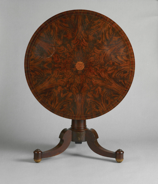 Duncan Phyfe, center table, 1825-30