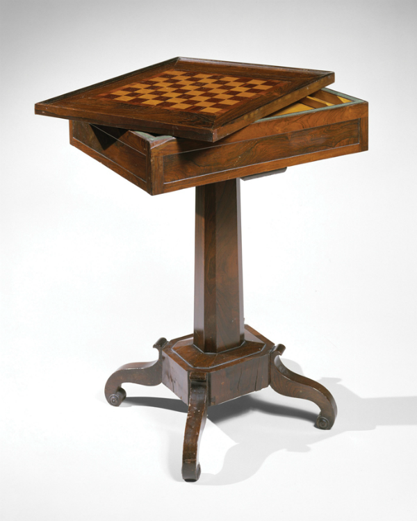 D. Phyfe & Son, Checker Stand, 1840-47