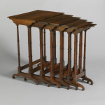 D. Phyfe & Son, nesting tables, 1841