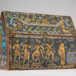 St. Thomas Becket Casket, 1195-1200, enamel on copper