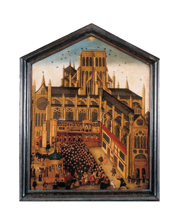 John Gipkyn, Diptych of Old St Paul's