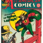 All-American Comics #16, July 1940, Billy Wright Collection of Comics