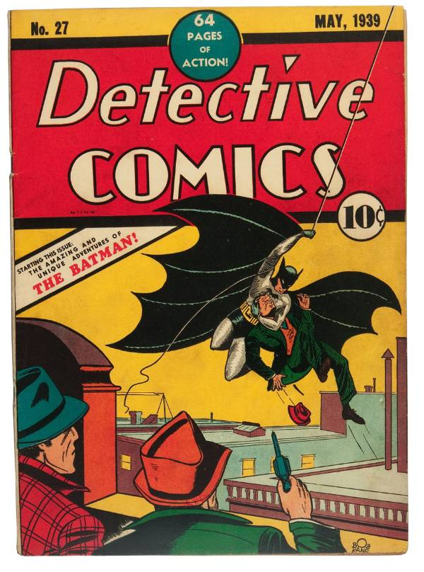 Detective Comics, May 1939, Billy Wright Collection of Comics