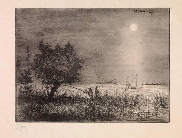 Vicomte Lepic, Moonlit Landscape