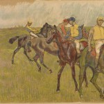 Edgar Degas and Auguste Clot, Before the Race