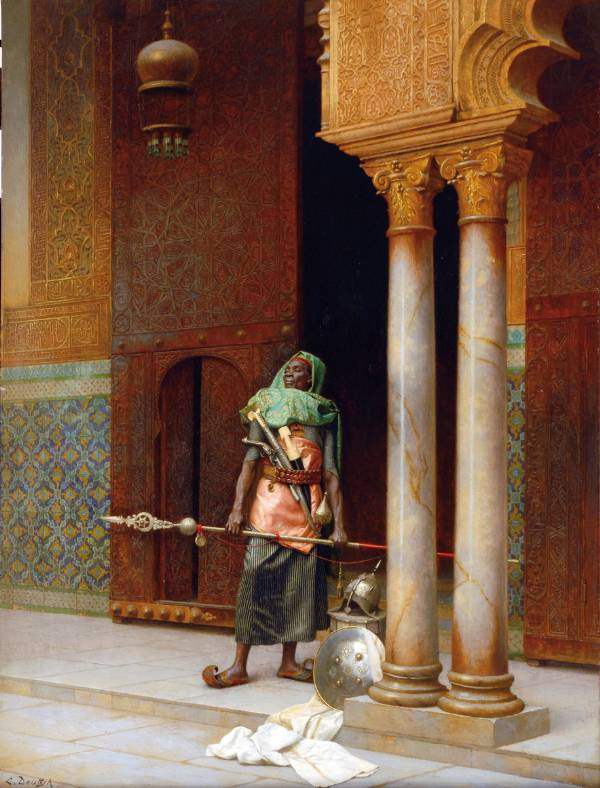 Ludwig Deutsch, The Nubian Guard