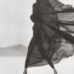 Herb Ritts, Versace, Veiled Dress, 1990