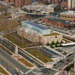 Aerial view. The Barnes Foundation, Philadelphia.