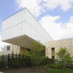 View from 21st Street. The Barnes Foundation, Philadelphia.