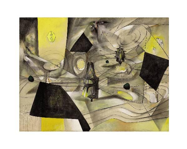 Roberto Matta, La révolte des contraires, 1944