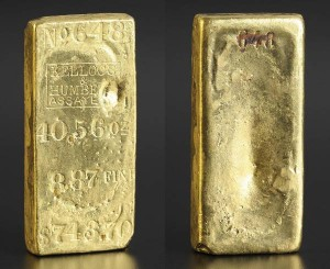 Kellogg & Humbert 40.56-ounce gold bar