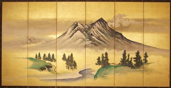 Tani Buncho, Mount Tsukuba, 1804–18