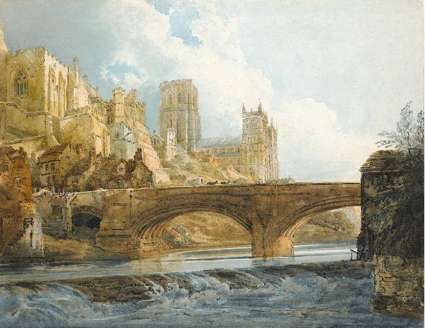 Thomas Girtin, Durham Cathedral and Castle.