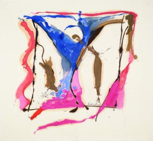 Helen Frankenthaler, Provincetown I, 1961, oil on canvas.