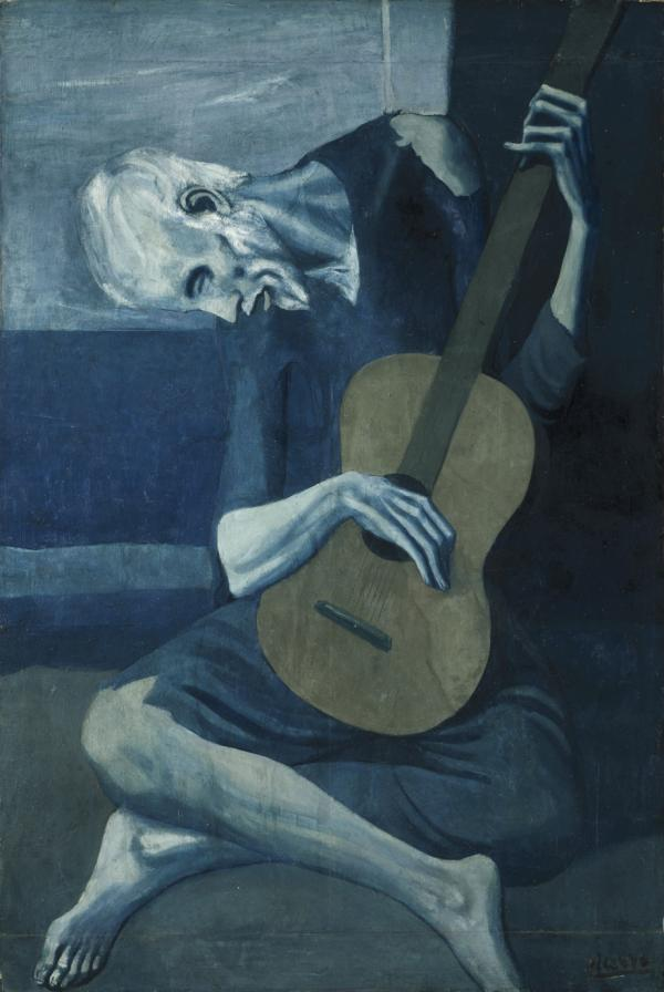 Pablo Picasso, The Old Guitarist, 1902–04