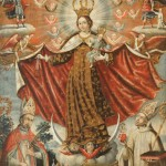 Gaspar Miguel de Berro, Our Lady of Mount Carmel with Bishop Saints, 1764, oil on canvas.