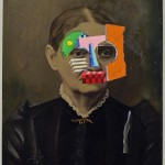Duane Michals, Nora Barnacle, 2012, tintypes with hand-applied paint.