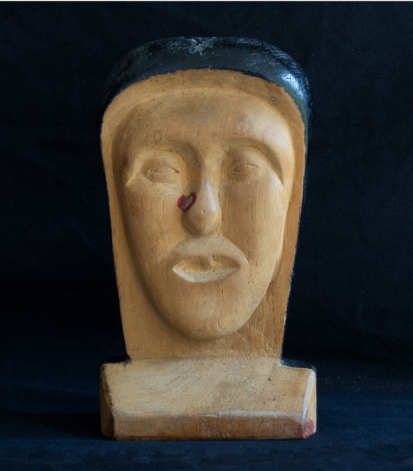 An ex voto object from the collection of John and Teenuh Foster