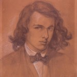Dante Gabriel Rossetti, Self-Portrait, 1847, pencil and white chalk on paper