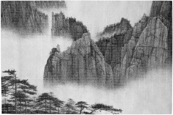 Lee Chun-yi, Immense Vista From the Perilous Peak, 2010