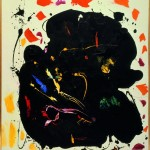 Hans Hofmann, Black Diamond, 1961, oil on canvas; 60 x 52 inches;