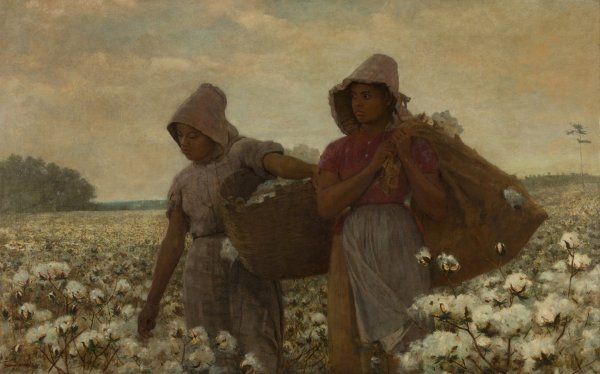 Winslow Homer, The Cotton Pickers, 1876, oil on canvas