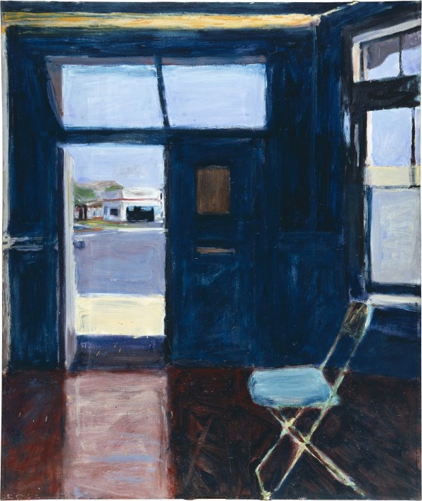 Richard Diebenkorn, Interior with Doorway, 1962, oil on canvas
