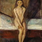 Edvard Munch, Puberty, 1894-95