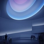 James Turrell, Rendering for Aten Reign, 2013