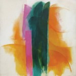 Cleve Gray, Ceres 16, 1967, acrylic on duck, 81.75 x 80 inches.