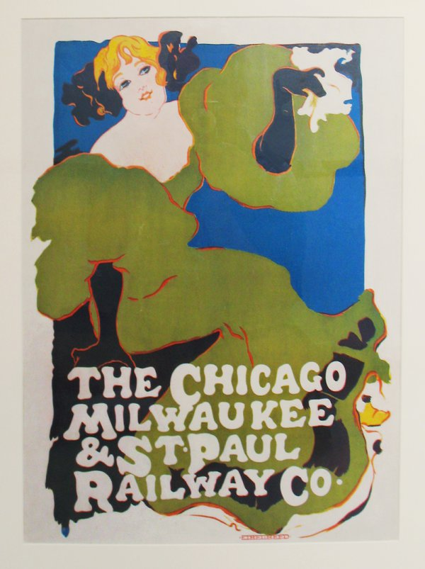Ethel Reed, The Chicago, Milwaukee & St. Paul Railway Co., 1896