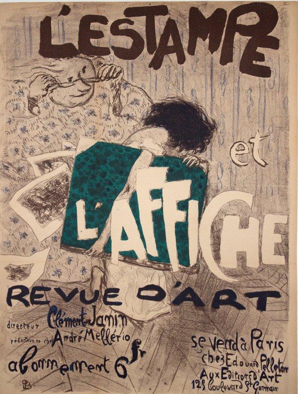 Pierre Bonnard, L'Estampe et l'Affiche, 1897.