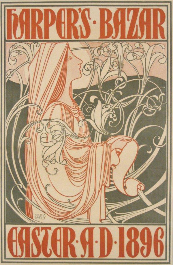 Edward Penfield, Harper's Bazaar, 1896.