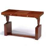 Marquetry writing desk by Emile-Jacques Ruhlmann.
