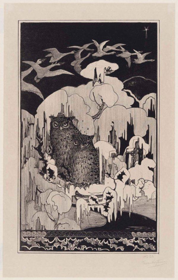 Theodorus van Hoytema, Christmas Eve (Kerstnacht), 1894;