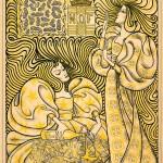 Wynand Otto Jan Nieuwenkamp, Poster for the magazine Eigen Haard (Our Own Hearth), 1896;