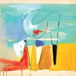 John Grillo, Untitled, 1946, watercolor on paper, 15 x 18 inches