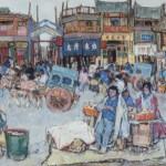 Leon Gaspard, A Street in Peking