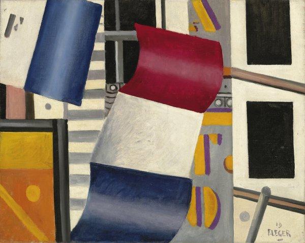 Fernand Leger, Flag, 1919.