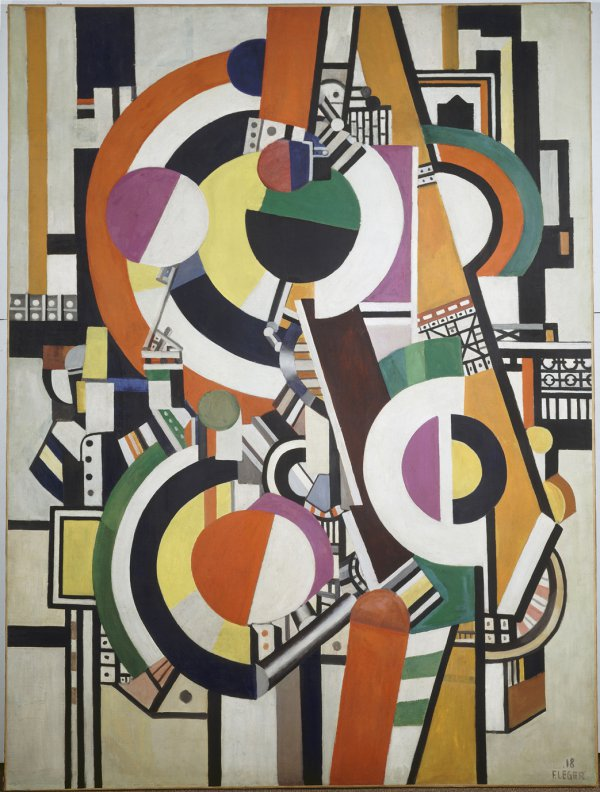 Fernand Léger, Disks, 1918.