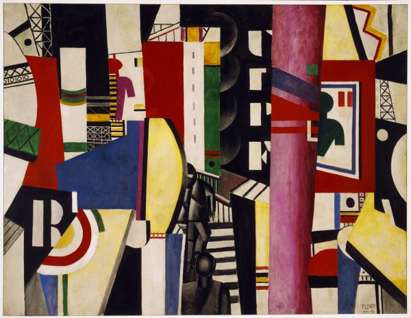 Fernand Léger,The City, 1919.