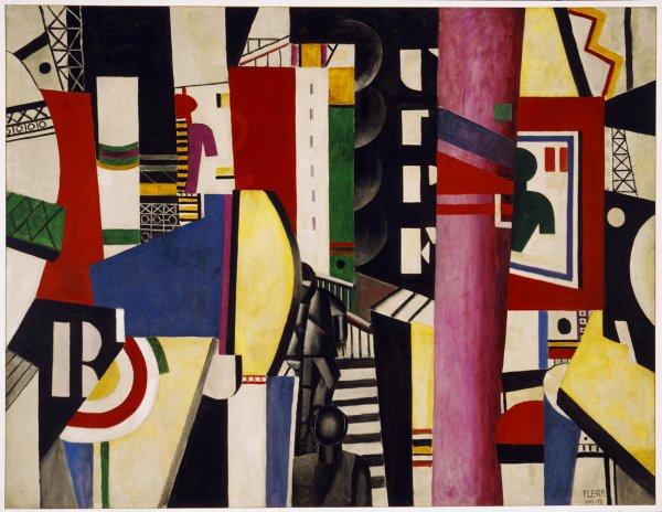Fernand Léger,The City, 1919.