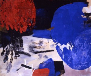 James Brooks, Sull, 1961, oil on canvas, 78 x 92 inches.