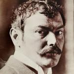 Anonymous photograph of Franz von Stuck, 1896.