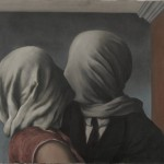 René Magritte, Les amants (The Lovers), 1928, oil on canvas.
