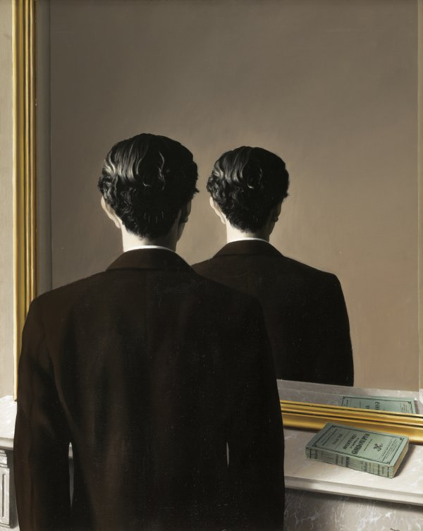 René Magritte, La reproduction interdite (Not to be Reproduced), 1937, oil on canvas.