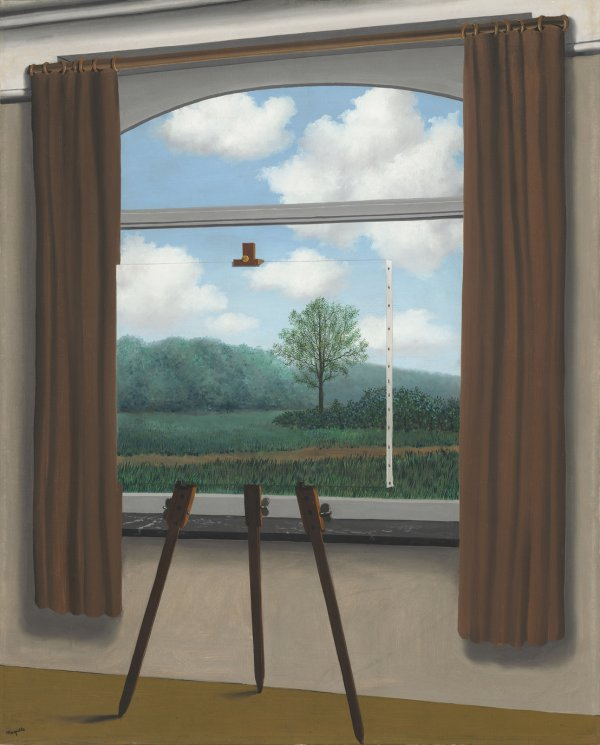 René Magritte, La condition humaine (The Human Condition), 1933, oil on canvas.